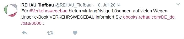 REHAU_Tiefbau _ Twitter